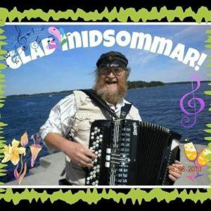 Åke Hellman önskar glad midsommar!